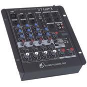 Mixer De Áudio 4 Canais Conector XLR e P10 US402RD LL Áudio
