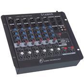 Mesa De Som Mixer 6 Canais 3EQ Starmix S602R LL Áudio