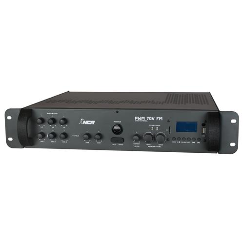 Som Ambiente Usb + Sd Card + Fm + Gongo Pwm70v2chfm Ll Áudio