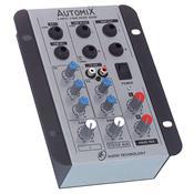 Mixer De Som 2 Canais Alimentação 12V A202r Ll Áudio