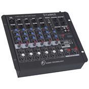 Mixer De Áudio 6 Canais Conector Xlr e P10 US602RD LL Áudio