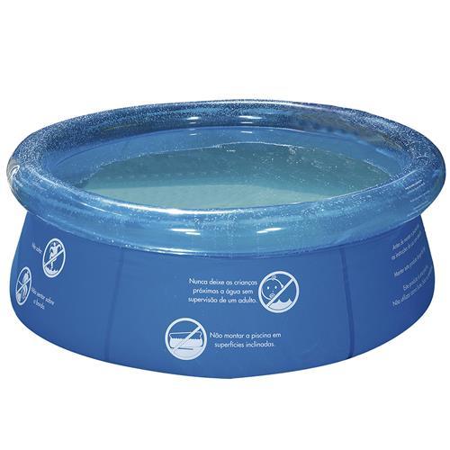 Piscina redonda 1000 litros 165x55cm 1048 mor mor for Piscina 1000 litros