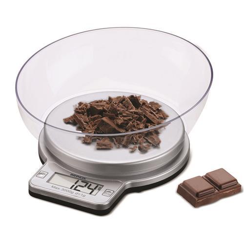 Balança Digital Com Recipiente 3Kg Para Cozinha 2922101 Brinox