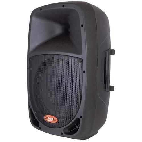 Caixa De Som Ativa Donner 200W Rms Preta Dr1212a Ll Áudio