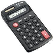 Calculadora De Bolso Com 8 Dígitos Preta Cb1483 Elgin