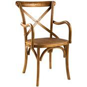 Cadeira Cross Estrutura Em Madeira Olmo Cadcroa-Na By Haus