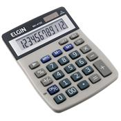 Calculadora De Mesa 12 Dígitos Solar E Bateria Mv4122 Elgin