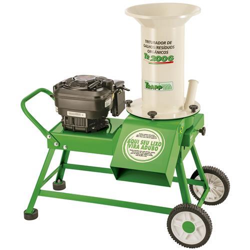 Triturador De Resíduos Orgânicos À Gasolina 8.5Hp Tr200g Trapp