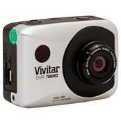 Câmera De Ação Filmadora Full Hd Prata Dvr786hd-Pr Vivitar