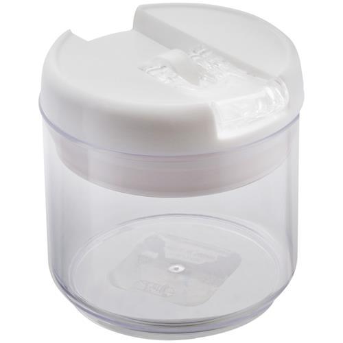 Pote Flip Redondo 0.4L Lock E Stock Branco 220301 Brinox