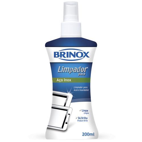Limpador De Aço Inox 200Ml Complementos 2405003 Brinox