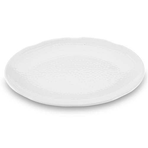 Travessa Oval Texture 40.5 X 30.5Cm Branco 52801006 Brinox