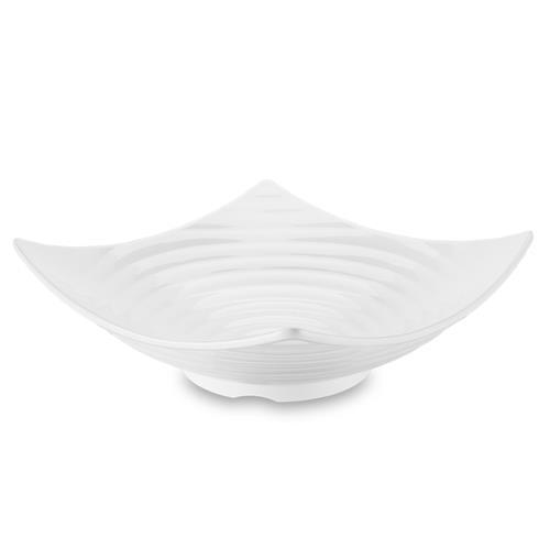 Saladeira Circles 32X12cm Branca Melamina 50601001 Brinox