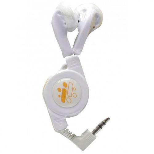 Fone De Ouvido Estéreo Retrátil Branco 11388Ipn I-Concepts
