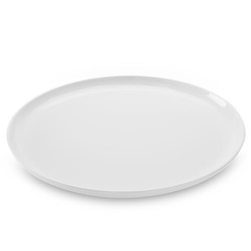Prato Raso Em Melamina 28Cm Branco Buffet 51401002 Brinox