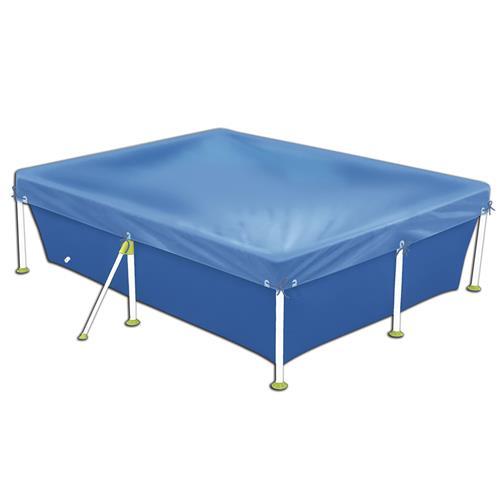 Capa para piscina 3000 litros standart azul 1405 mor na for Piscina 3000 litros