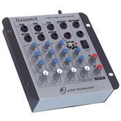 Mesa De Som Mixer Nanomix De 4 Canais Na402r Ll Áudio