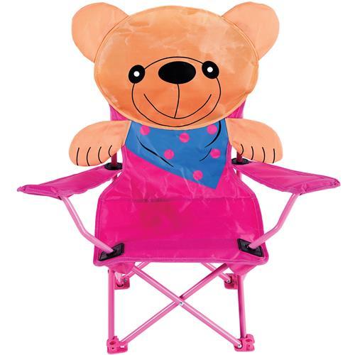 Cadeira Infantil Dobrável Sanfonada Ursinho 2090 Mor