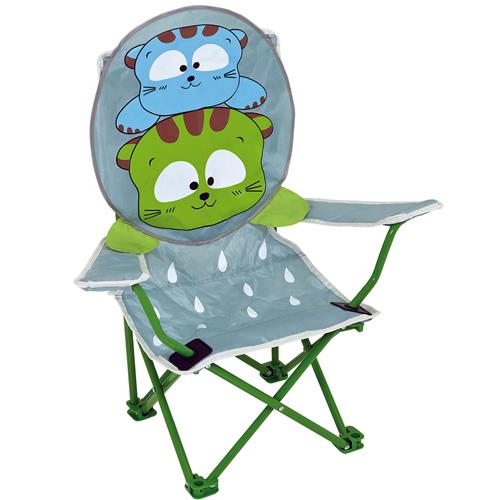 Cadeira Infantil Dobrável Sanfonada Gatoons 2092 Mor