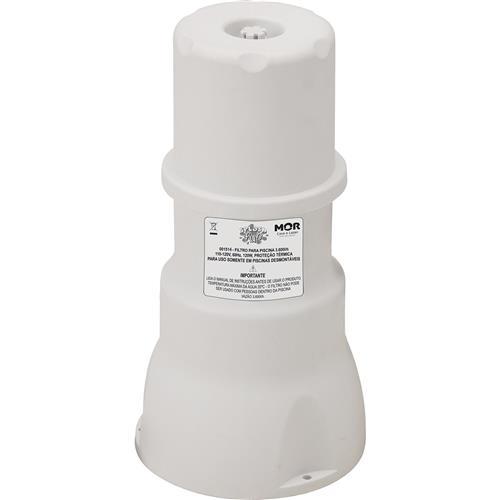 Bomba Filtrante Para Piscina 3600L/H Com Mangueira Fp3600 Mor