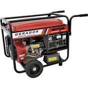 Gerador De Energia À Gasolina 8000W 15Hp Mgg-8000Cle Motomil