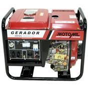 Gerador De Energia À Diesel 2200W 4.2Hp Mdg-2200Cle Motomil