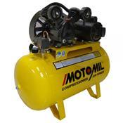 Compressores De Ar 2Hp Trifásico 220/380V Cmv-10Pl/150 Motomil