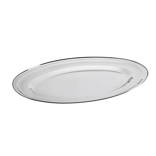 Travessa Oval Rasa Jornata Inox 45 X 32Cm 1611045 Brinox