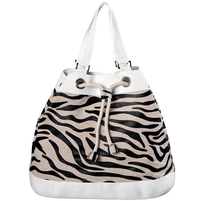 Bolsa feminina jurer praia e piscina zebrinha mor mor for Bolsa piscina