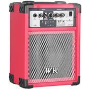 Caixa De Som Multiuso 40W Rms 2 Vias Vermelho Rg230v Wr Áudio