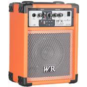 Caixa De Som Multiuso 40W Rms 2 Vias Laranja Rg230l Wr Áudio