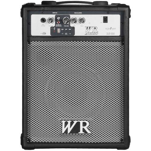 Caixa De Som Multiuso 50W Rms 2 Vias Preto Rg330 Wr Áudio