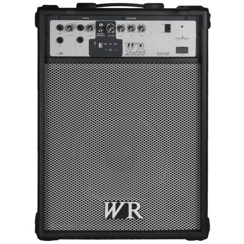 Caixa De Som Multiuso 60W Rms 3 Vias Preto Rg440 Wr Áudio
