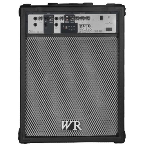 Caixa De Som Multiuso 80W Rms 3 Vias Preto Rg540 Wr Áudio