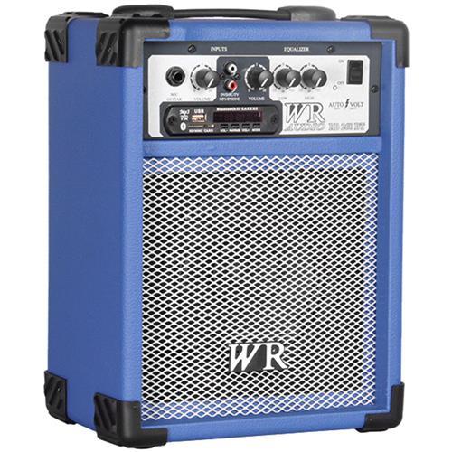 Caixa De Som Multiuso 40W Rms 2 Vias Azul Rb260a Wr Áudio