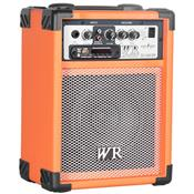 Caixa De Som Multiuso 40W Rms 2 Vias Laranja Rb260l Wr Áudio
