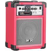 Caixa De Som Multiuso 40W Rms 2 Vias Vermelho Rb260v Wr Áudio