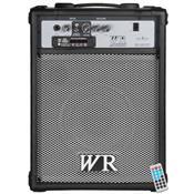 Caixa De Som Multiuso 50W RMS 2 Vias Preto RB360 Wr Áudio