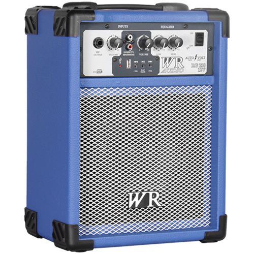 Caixa De Som Multiuso 40W RMS Azul RG23012VA Wr Áudio