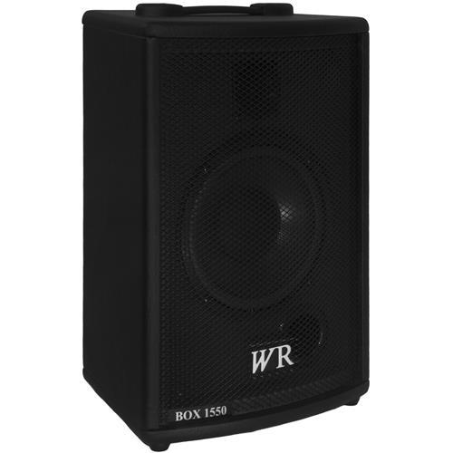 Caixa De Som Ativa Trapezoidal Box 60W RMS BOX1550 WR Áudio