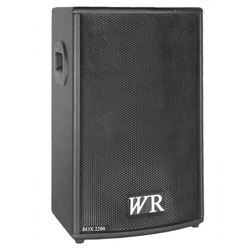 Caixa De Som Ativa Trapezoidal Box 150W Rms Box2200 Wr Áudio