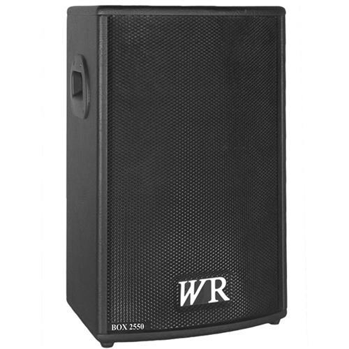 Caixa De Som Ativa Trapezoidal Box 200W RMS BOX2550 WR Áudio