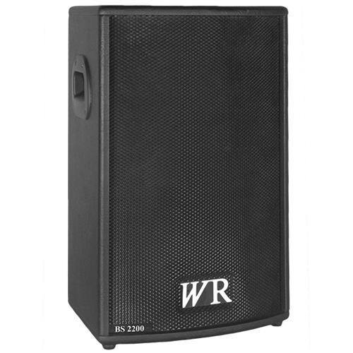 Caixa De Som Ativa Trapezoidal Bs 150W Rms Bs2200 Wr Áudio