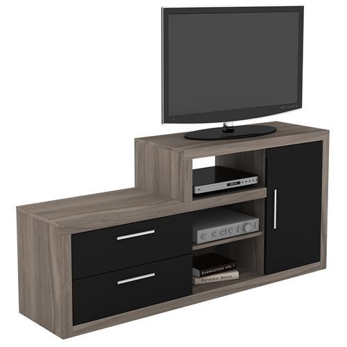 Rack Para Tv Até 42 Pol 2 Gavetas 1 Porta R1452 Tecno Mobili