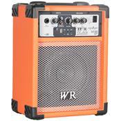 Caixa De Som Multiuso Laranja 40W Bivolt USB WR Áudio
