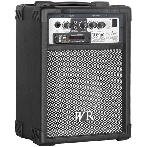 Caixa De Som Preta 40W Bivolt Bluetooth Usb Sd Wr Áudio