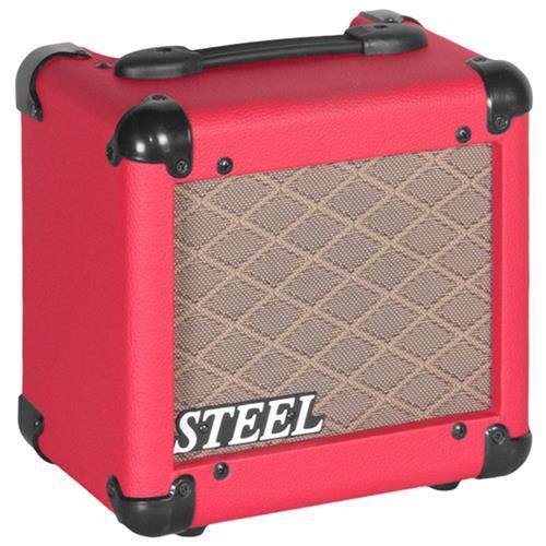 Amplificador De Guitarra 15W Vermelho Steel20gtv Wr Áudio