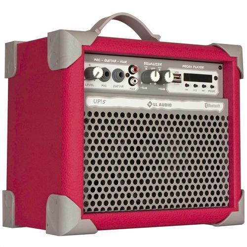 Caixa De Som Amplificada 35W Usb 5 Pol Pink Up5 Ll Áudio