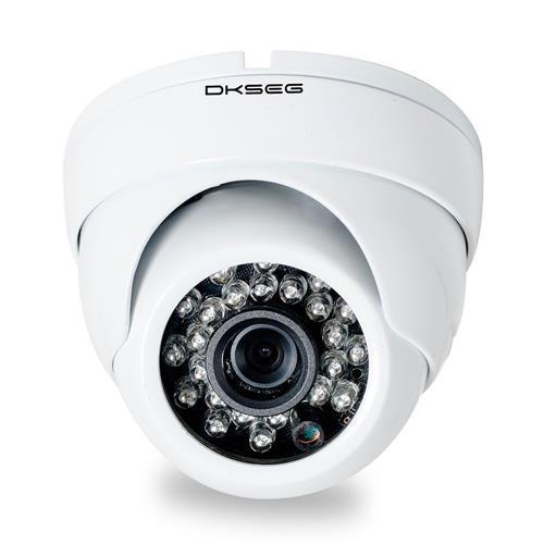 Câmera Dome 24 Leds Lente 3.6Mm Ahd 720P Dk210 Dkseg