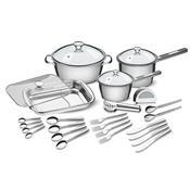 Kit Para Cozinha 24 Peças Allegra Em Aço 65650924 Tramontina
